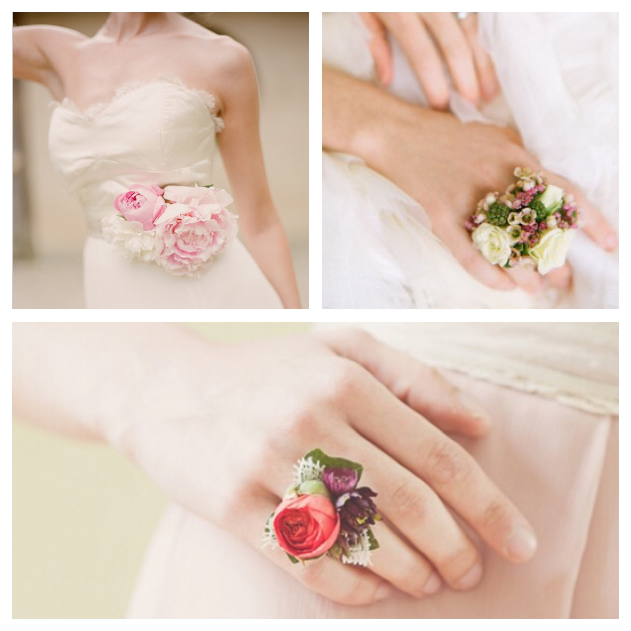 The Rose Café | Wearable Florals and Flowers for Weddings | Alternatives for Wedding Corsages | www.therosecafe.florist